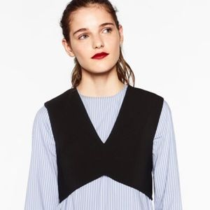 Zara Deep V Crop Top!